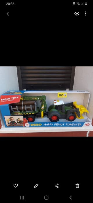 Tractor juguete Fendt