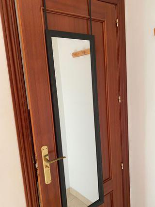 Espejo para colgar en puerta