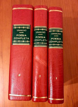recopilacion poesia Miguel de Unamuno