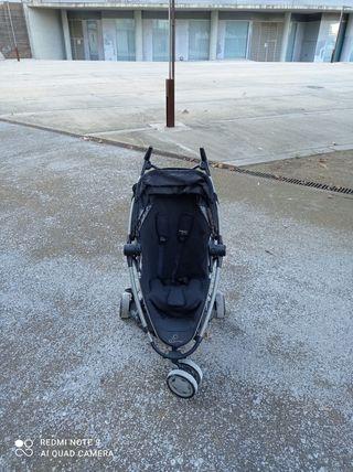 carrito de paseo con bolsa quinny