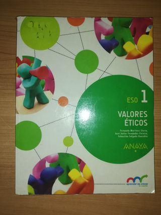 Libro 1°ESO Valores éticos