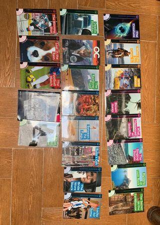 Colección Richmond libros en inglés con CD