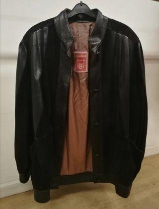 chaqueta cuero Vintage Negra