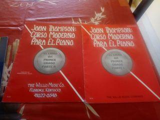 Libros musica.John Thomson.Curso moderno