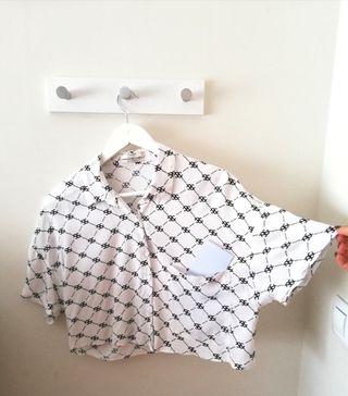Camisa corta fluida