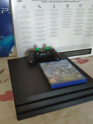 PS4 Pro 1Tb + mando + Horizon Zero Dawn