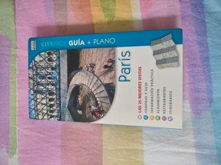 guías de viaje París + Holanda