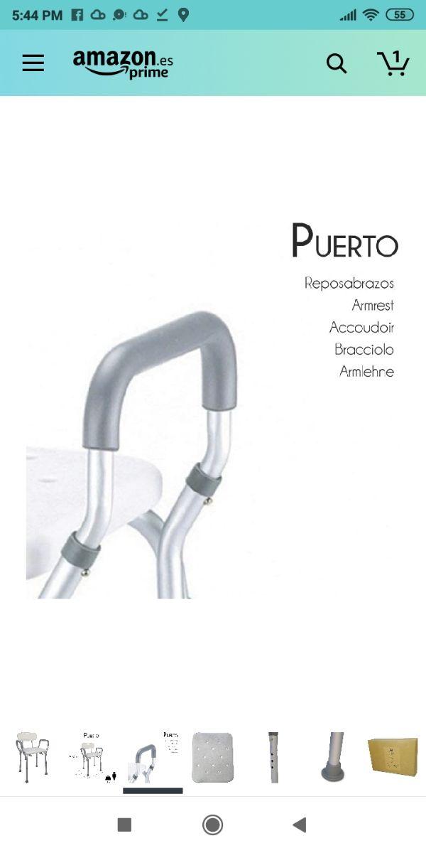 Silla ortopédica para baño y ducha