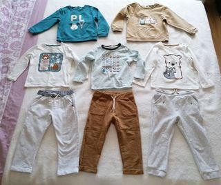 Lote de ropa marca Obaibi (98 cm)