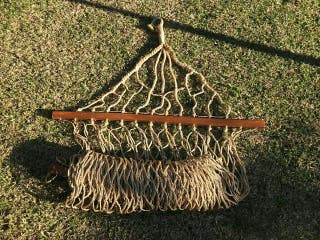 Hamaca balancín de jardín