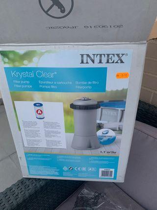 Bomba de filtro INTEX
