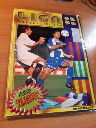 Album Liga de Futbol temporada 95/96