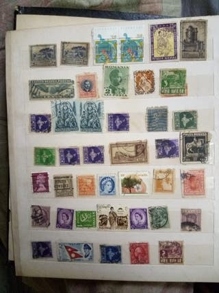 Sellos antiguos del mundo/Worldwide antique stamps