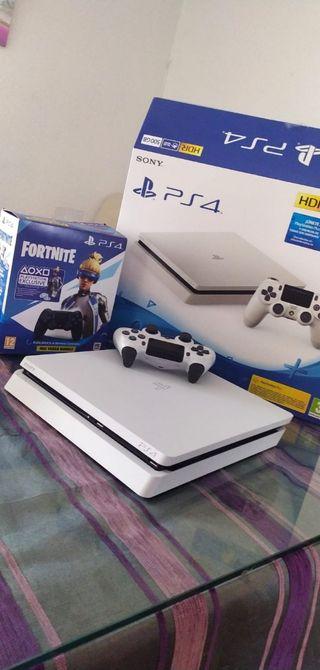vendo PS4 slime edición White