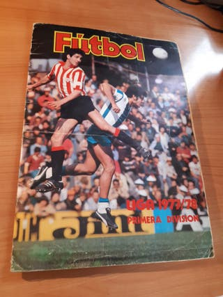 Album cromos futbol Liga 1977/1978