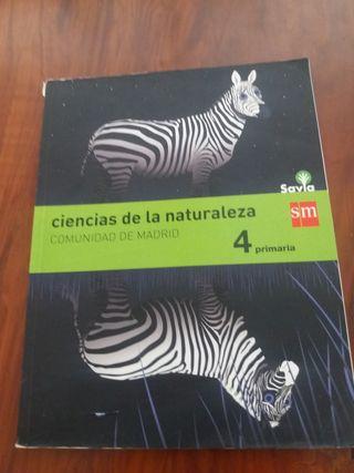 Regalo Libro de Ciencias de la Naturaleza 4to prim