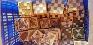 Azulejos sevillanos antiguo
