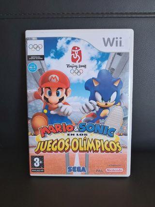 MARIO Y SONIC En los juegos Olímpicos Para Wii