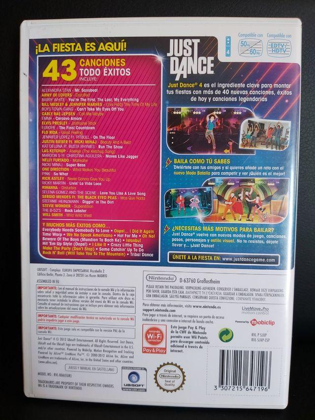 JUST DANCE 4 Para Wii