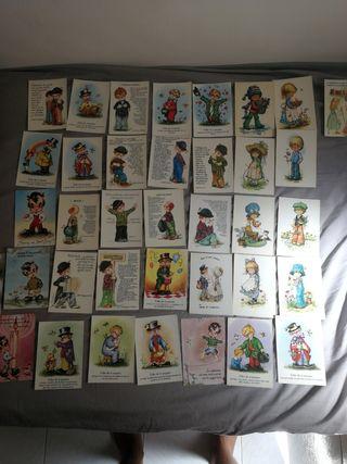 Colección postales