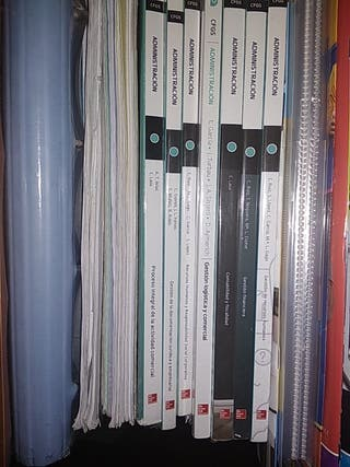 Libros Grado superior Administración y Finanzas