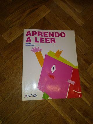 libro aprendo a leer primaria