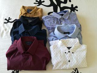 Lote de 7 camisas