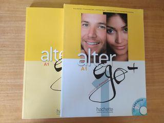 libros francés alter ego + A1 como nuevos