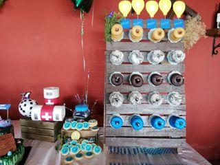 Expositor Donuts para Eventos.