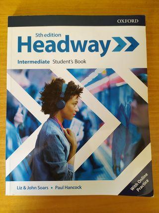 libro de inglés Headway 5th edition sin usar.