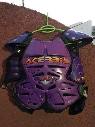 Peto protección para motocross