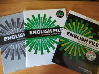 libro de inglés English file intermediate B1.