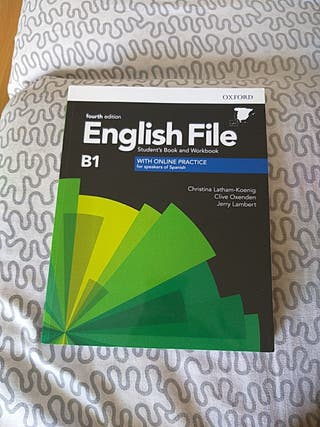 English File 4th Edition Student's and workbook B1