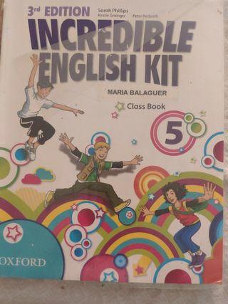 libro de inglés clase book 5 . OXFORD