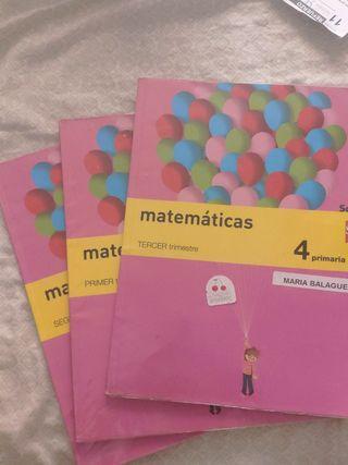 matemáticas 4 primaria SM