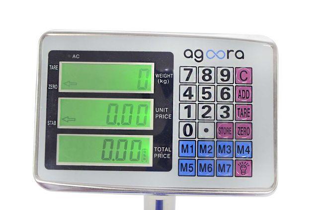 Báscula Industrial De Plataforma 300kg/50g