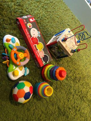 Set juguetes de bebe (7 jueguetes)