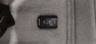 polar cs600x completo con sensor cardíaco y GPS. L