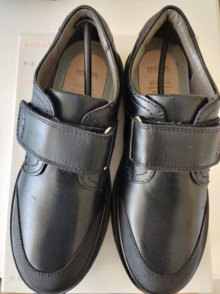Zapatos colegial GEOX RIDDOCK 34 NUEVOS A ESTRENAR