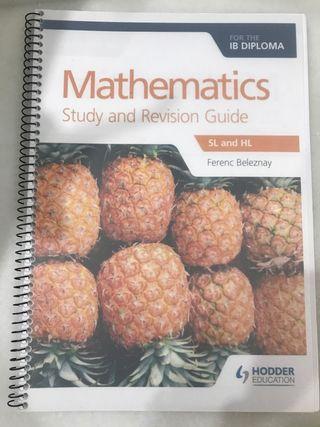 Matematicas guía de estudio y revision para IB