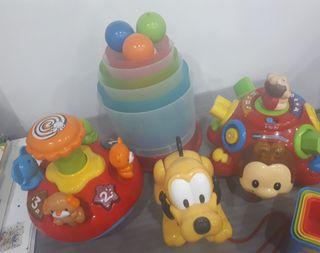 Lote 4 juguetes preescolar