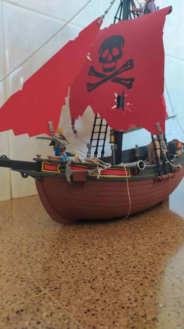 Barco pirata corsario Playmobil