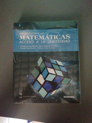 Introducción a las matemáticas