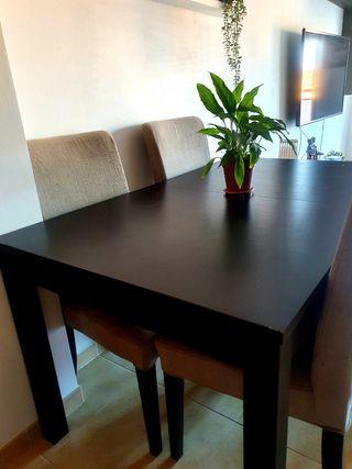 mesas con sillas salon wallapop