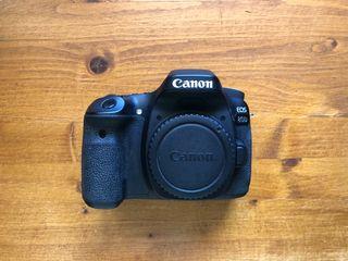 Canon 80d cuerpo