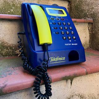Cabina Telefónica TELETUP Mensajes