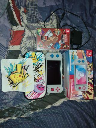 Nintendo switch lite console pokemon edition