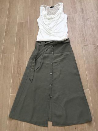 Lote Falda Top Camiseta