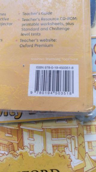 libro inglés de cuarto de primaria