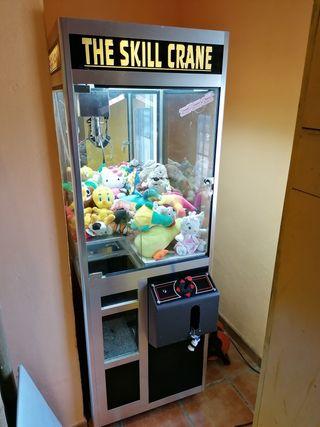 Máquina expendedora Grua